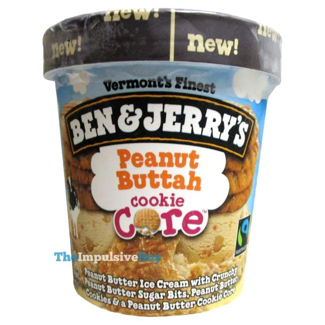 Ben & Jerry's Peanut Buttah Core Ice Cream