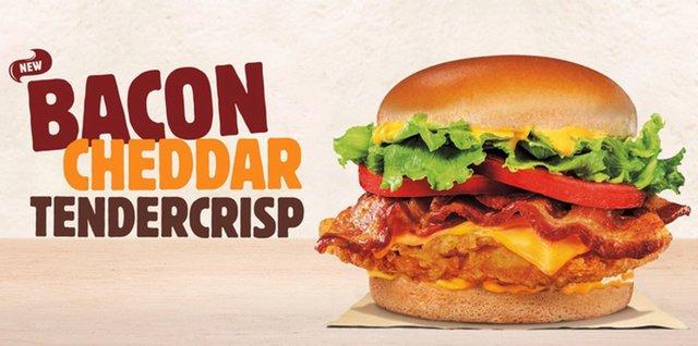 Burger King Bacon Cheddar Tendercrisp