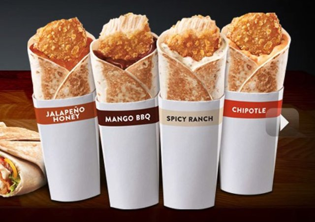 Taco Bell Crispy Chicken Grillers