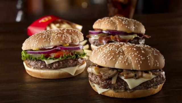 McDonald s Sirloin Third Pound Burgers