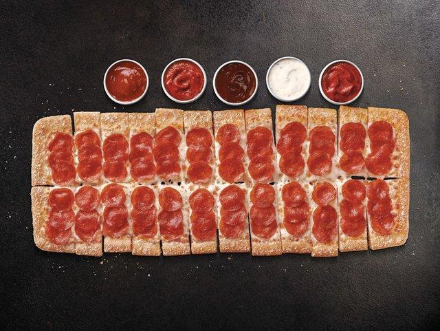 Pizza Hut Big Flavor Dippers Pizza