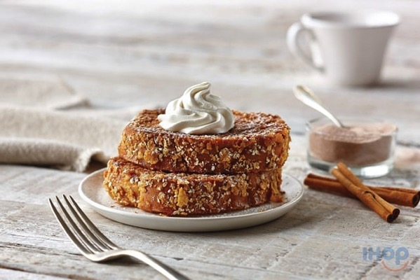 IHOP Cinnamon Sugar Double Dipped French Toast