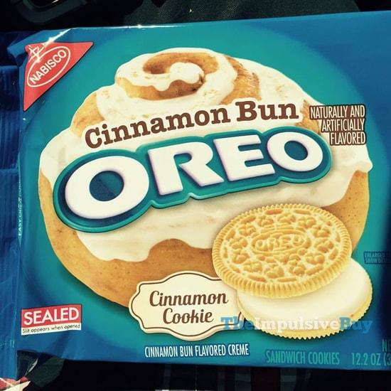 Nabisco Cinnamon Bun Oreo Cookies