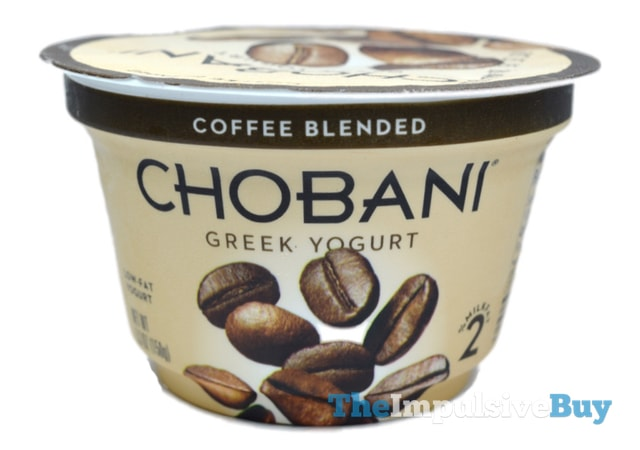 Chobani Coffee Blended Greek Yogurt