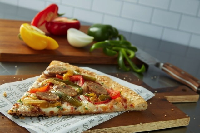Sbarro Classic Italian Sausage  Peppers Pizza