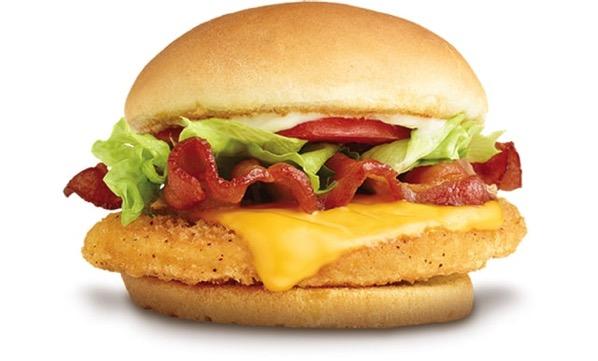 Wendy s Crispy Chicken BLT