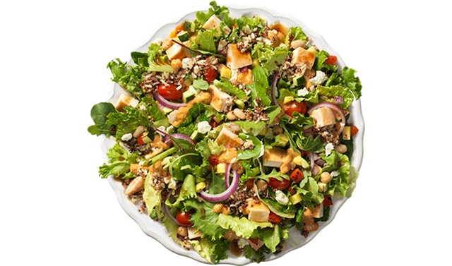 Wendy s Power Mediterranean Chicken Salad