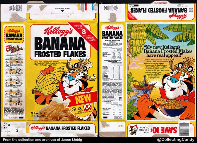 1982 Banana Frosted Flakes