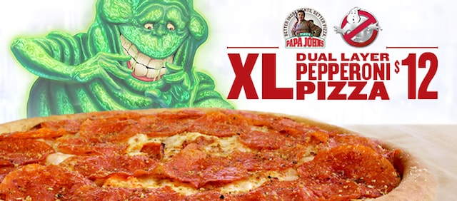 Papa John s XL Dual Layer Pepperoni Pizza