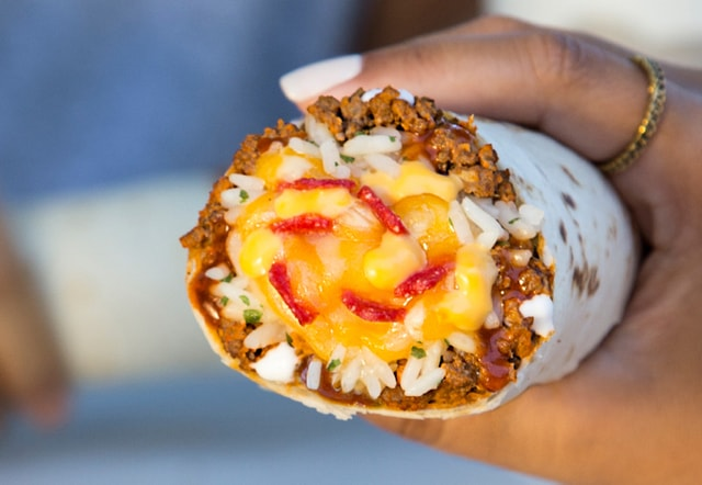 Taco Bell Cheesy Core Burritos