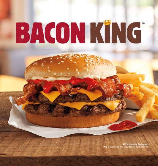 Burger King Hamburger Kalorien