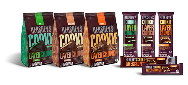 Hershey s Cookie Layer Crunch Bars