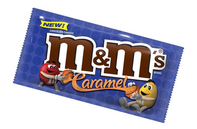 M M S Caramel Chocolate Candies