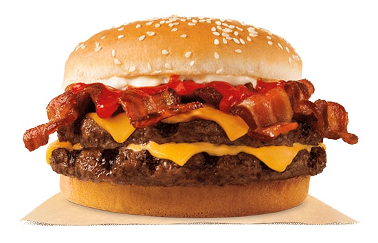 FAST FOOD NEWS: Burger King BBQ Bacon King