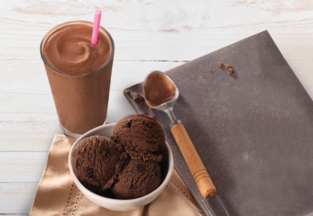 Baskin Robbins Superfudge Truffle Ice Cream