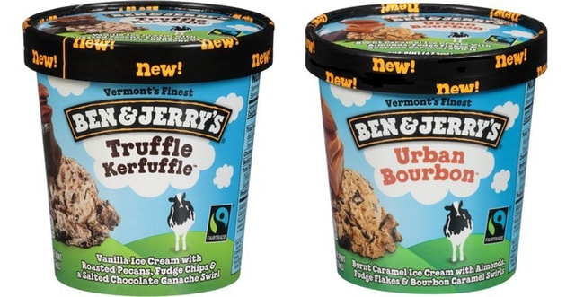 Ben  Jerry s Truffle Kerfuffle and Urban Bourbon Ice Creams2