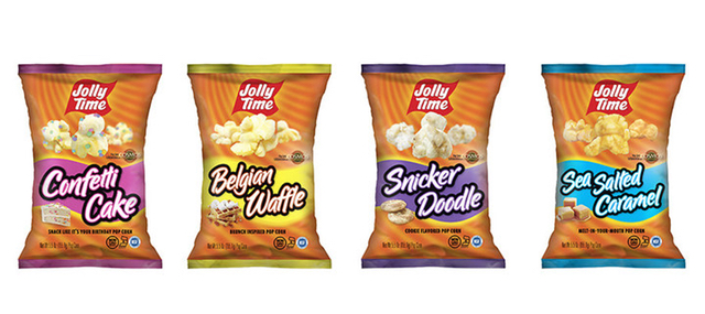 Jolly Time 2017 Flavors