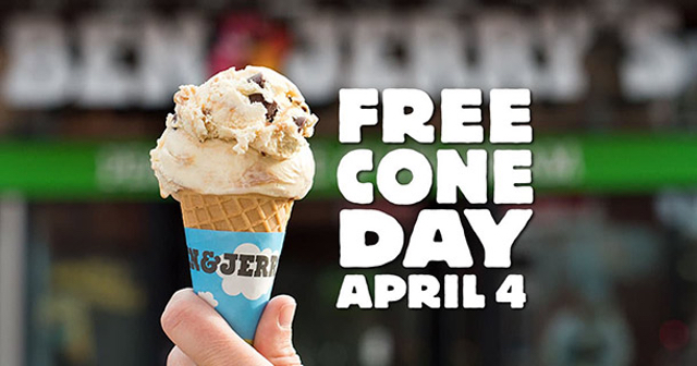 Ben Jerry s Free Cone Day 2017