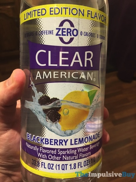 Clear American Limited Edition Blackberry Lemonade