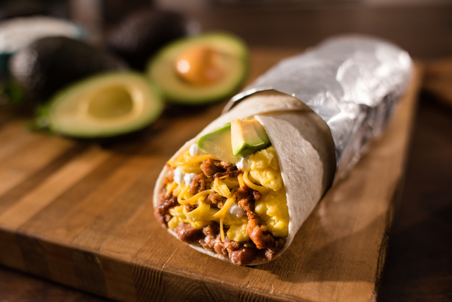 Del Taco Huevos Rancheros Epic Burrito