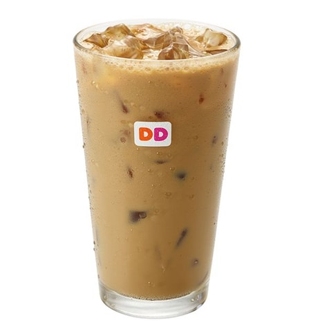 Dunkin Donuts Coconut Creme Pie Iced Coffee