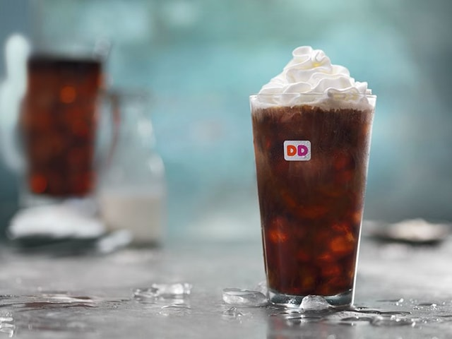 Dunkin Donuts Sweet and Salted Cold Brew Coffee