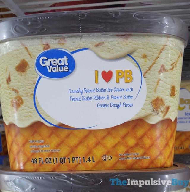 Great Value I Heart PB Ice Cream