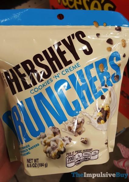 Hershey s Cookies  N Creme Crunchers