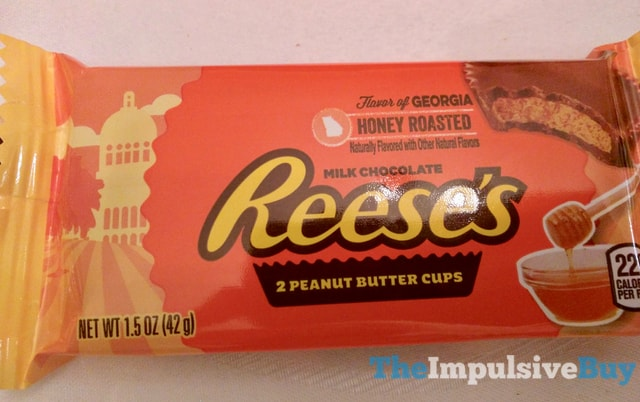 Hershey s Flavor of Georgia Honey Roasted Reese s Peanut Butter Cups
