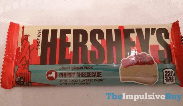 Hershey s Flavor of New York Cherry Cheesecake Bar