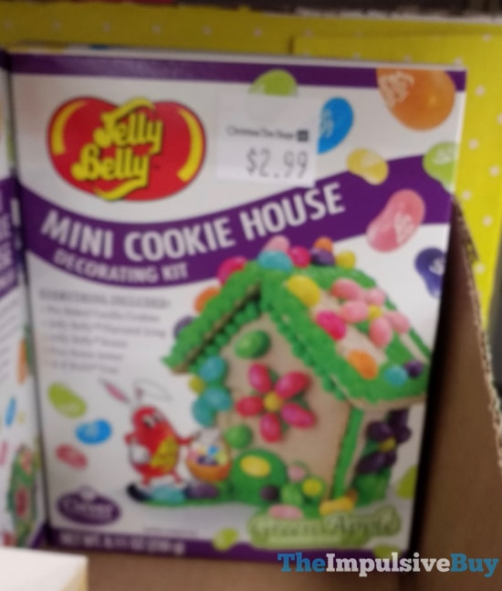 Jelly Belly Mini Cookie House Decorating Kit