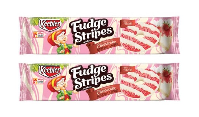 Keebler Limited Batch Strawberry Cheesecake Fudge Stripes