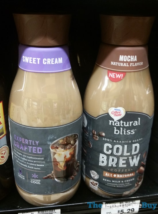 Nestle Coffee mate Natural Bliss Cold Brew Coffee