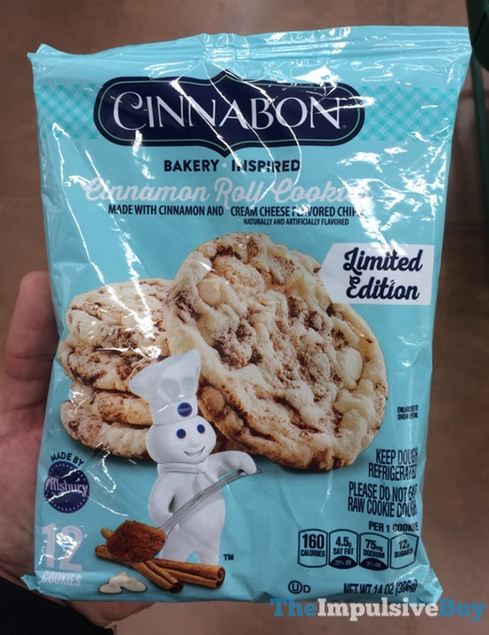 Spotted On Shelves Pillsbury Limited Edition Cinnabon