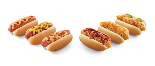 Sonic Cheesy Bacon Lil Doggies and Honey BBQ Bacon Lil Chickies