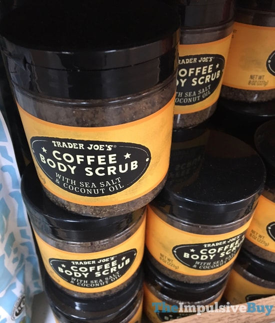 Trader Joe s Coffee Body Scrub