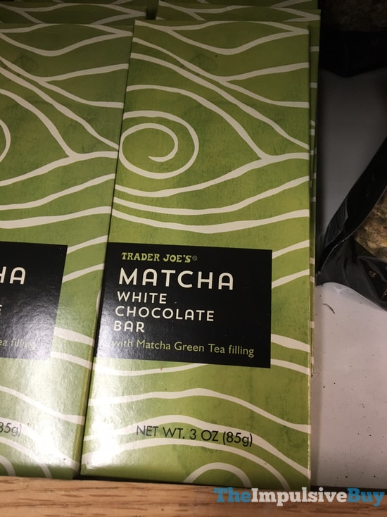 Trader Joe s Matcha White Chocolate Bar