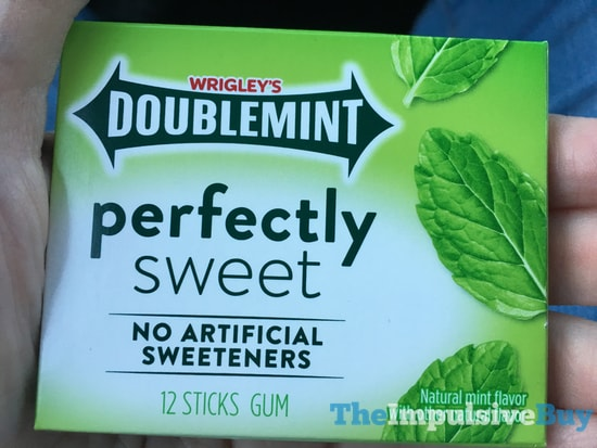 Wrigley s Doublemint Perfectly Sweet Gum