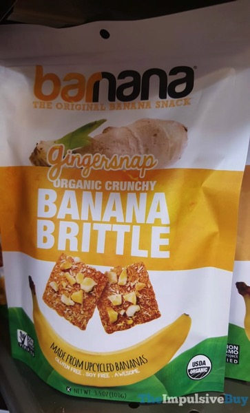 Barnana Gingersnap Banana Brittle