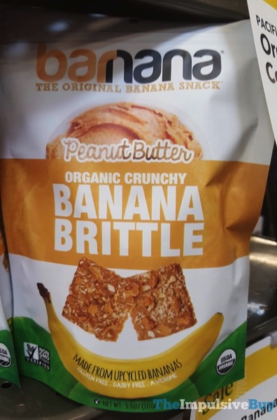 Barnana Peanut Butter Banana Brittle