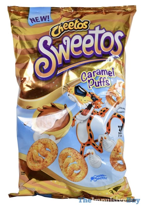 Cheetos Sweetos Caramel Puffs