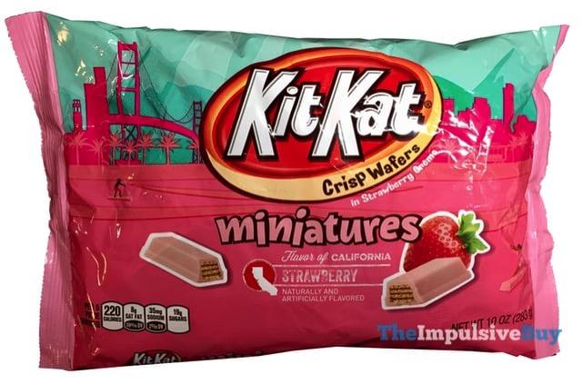 Flavor of California Strawberry Kit Kat Miniatures