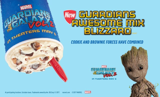 Guardians Awesome Mix Blizzard