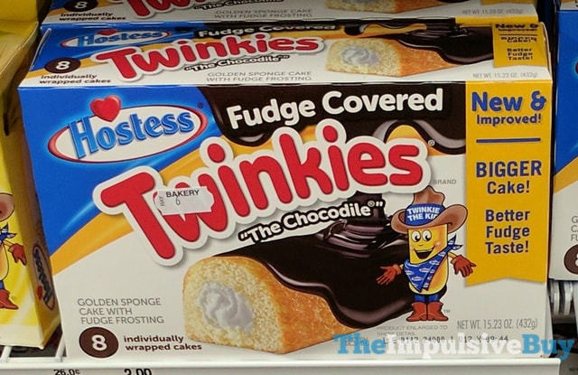 Hostess Fudge Covered Twinkies  The Chocodile  2017