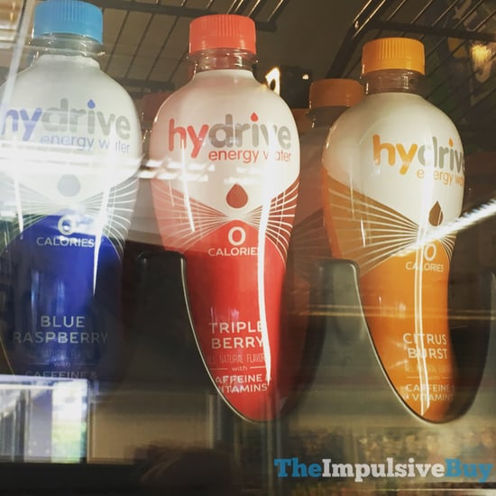 Hydrive Energy Water  Blue Raspberry Triple Berry and Citrus Blast