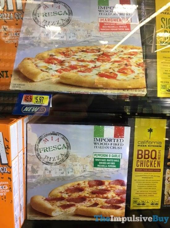 Mia Fresca Pizza  Margherita and Pepperoni  Garlic