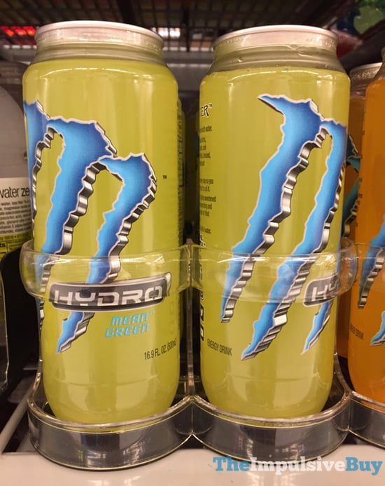 Monster Hydro Mean Green Energy Water