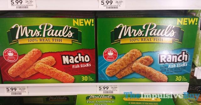 Mrs Paul s Nacho and Ranch Fish Sticks