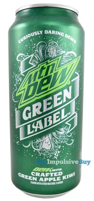 review: mtn dew green label - the impulsive buy