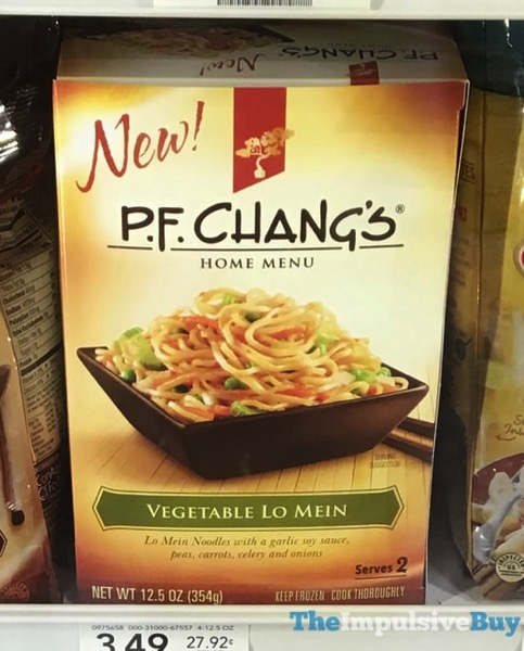P F Chang s Home Menu Vegetable Lo Mein